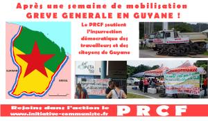 Grève générale en Guyane  ! le capitalisme c'est le sous-développement !