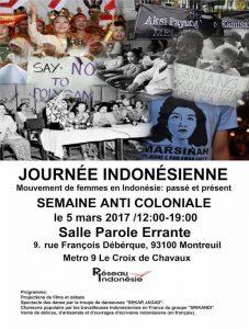 Indonésie : droits des femmes, luttes & mobilisation contre l'anticommunisme 4 dates à ne pas manquer au mois de Mars.