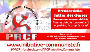 Lettre ouverte du Pôle de Renaissance Communiste en France aux militants communistes !