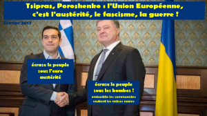#eurofascisme : Tsipras au coté de la junte fasciste à Kiev !