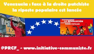 VENEZUELA: solidaires du camp anti-impérialiste #VenezuelaCorazóndeAmerica #VamosConLaConstituyente