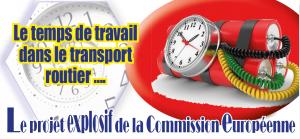 Transport routier la commission européenne attaque les chauffeurs. La CGT riposte [vidéo]