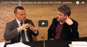 #vidéo Sortie immédiate de l'OTAN : Rencontre avec Djordje Kuzmanovic (responsable aux relations extérieures et à la défense du Parti de Gauche) à l'IRIS