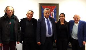 Le PRCF rencontre l'ambassadeur de Cuba à Paris