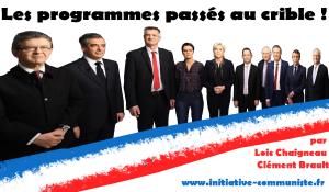 Quels sont les programmes des candidats à la présidentielle ? interview de Loic Chaigneau et Clément Brault