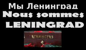 #jesuisleningrad le peuple russe frappé par un attentat dans le métro de Leningrad