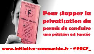 Stopper la privatisation du permis de conduire : une pétition est lancée
