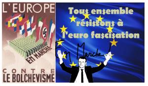 Révisionnisme, propagandisme, confusionnisme : Bernard Bruneteau ou la réécriture de l'histoire au service de l'européisme ! dans - EDUCATION... SAVOIR... Macron-en-marche-eurofascisation-300x175