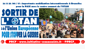 Contre-Sommet de l'OTAN à Bruxelles : contre le surarmement et la guerre, une mobilisation sans répit !