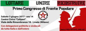 """Italie : 1er congrès du Fronte Popolare """"Lutter, Unir, Reconstruire"""""""