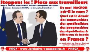 La signification historique du quinquennat MACRON et les tâches des communistes et des progressistes de France par Georges Gastaud