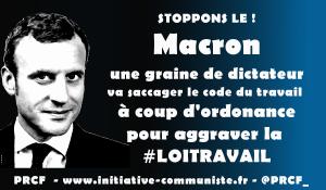 Loi travail : c'est toujours non, merci ! les ordonnances c'est la dictature ! #pétition #onvautmieuxqueça
