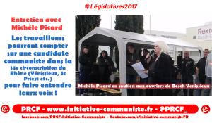 Entretien avec Michèle Picard, candidate communiste et insoumise à Vénissieux #vidéo