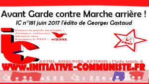 Avant garde contre Marche arrière – par Georges Gastaud
