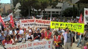 Lutte pour les retraites à Monaco : le tous ensemble et en même temps ça marche !
