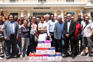 Énorme mobilisation des travailleurs de Monaco pour les retraites, manifestation le 22 juin