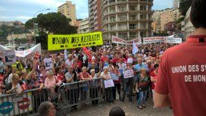 Manifestation pour les retraites à Monaco : les explications de Alex Falce