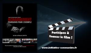 Acharnement, poursuivis pour l'exemple : soutenez le prochain #film de Mourad Laffitte. Faites places aux travailleurs dans les cinémas