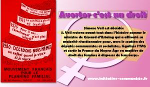 Décès de Simone Veil, la ministre qui avec le soutien des communistes a affronté sa majorité pour légaliser l'IVG