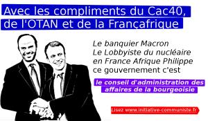 Avec les compliments du Cac40, de l'OTAN et de la Françafrique  – Par Bruno Guigue