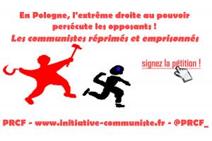 Dénoncer et stopper la répression anti communiste en Pologne : lettre au consul de France