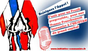 Appel du 14 juillet 2017 –  S'unir pour un Frexit progressiste,  pour une France Franchement Insoumise à l'UE/OTAN du grand capital