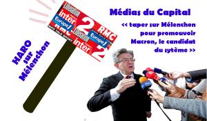 Lettre à mes consoeurs et confrères journalistes… … qui n'ont de cesse d'enjoliver Macron et de noircir Mélenchon.