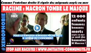 #kwassakwassas Racisme Macron tombe le masque et rallie l'extrême droite !