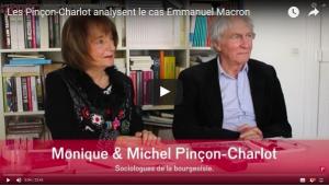 Les Pinçon-Charlot analysent le cas Emmanuel Macron #vidéo #partagez #retweetez !