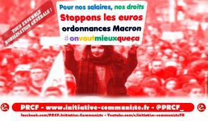 Mobilisation contre les ordonnances Macron : construire le tous ensemble !