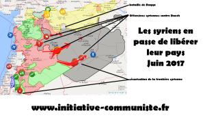 Les syriens reconquièrent leur pays contrecarrant les plans de l'impérialisme US