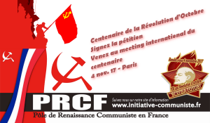 100 ans d'Octobre 17 : signez la pétition, préparez le centenaire 4 novembre à PARIS !