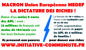 APL : faire payer les pauvres. par Antoine Manessis