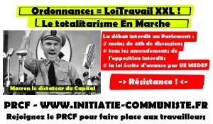 #loitravailXXL : le totalitarisme En Marche interdit le débat parlementaire