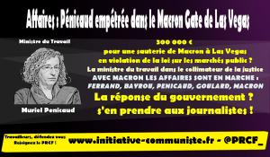 L'AFP étoufferait les affaires Macron tandis que la justice enquête sur Pénicaud, ministre du travail