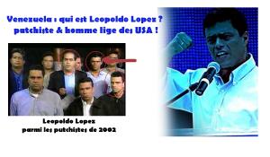 Venezuela : qui est Leopoldo Lopez ? putchiste & homme lige des USA.