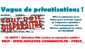Privatisation : Macron, Philippe bradent la Nation pour remplir les coffres de l'oligarchie #privatisation