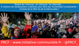 Forte participation pour la Constituante au Venezuela qui fait le choix de la paix et de la démocratie