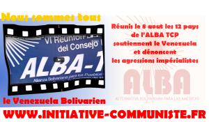 L'Amérique Latine, avec l'ALBA-TCP, soutient le Venezuela et dénonce les agressions impérialistes