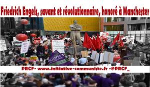 Friedrich Engels, savant et révolutionnaire, honoré à Manchester