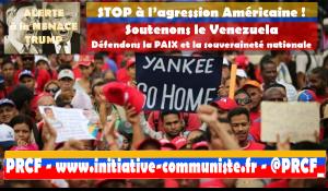 Renforçons la solidarité avec le Venezuela alors que le secrétaire de l'OEA appelle à une intervention militaire !