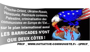 Sur le plan international aussi, « LES BARRICADES N'ONT QUE DEUX CÔTES » .