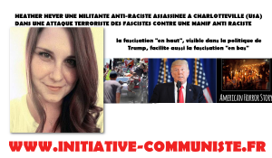 #Charlotteville : les fascistes assassinent Heather Heyer militante antirasciste de 32 ans