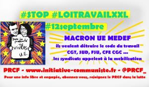 #ordonnances #loitravailXXL CGT, FSU, SUD Solidaires, CFE CGC … les syndicats appellent à la mobilisation le #12 septembre