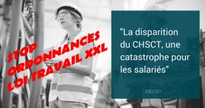 Les ordonnances suppriment les CHSCT : notre sécurité sacrifiée pour leurs profits !