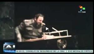 #GAONU. Assemblée Générale de l'ONU: discours de Fidel Castro mémorable à l'ONU en 1979. Hasta la victoria siempre !