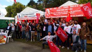 #vidéo trois jours sur le stand  du PRCF et des JRCF à la fête de l'Huma