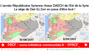La Syrie inflige défaites sur défaites à Daech : le siège de Deir Ez Zorr en passe d'être levé