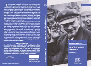 Pour son 150e anniversaire, Lénine plus actuel que jamais : des enseignements au nouveau défi léniniste – par Georges Gastaud.