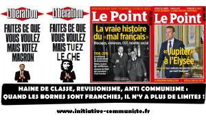 Le Point, Libération…QUAND LES BORNES SONT FRANCHIES, IL N'Y A PLUS DE LIMITES. #JRCF